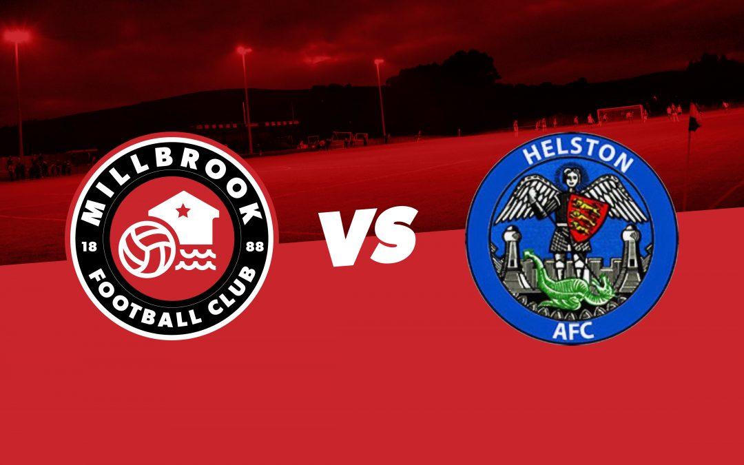 Millbrook 3-3 Helston